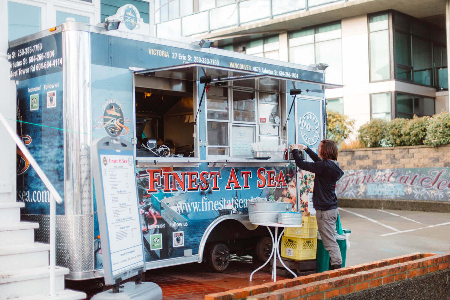 Finest at Sea food Truck